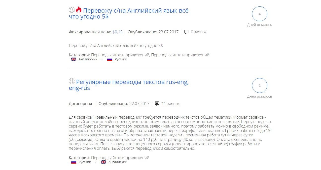 Полиглот - биржа переводчиков